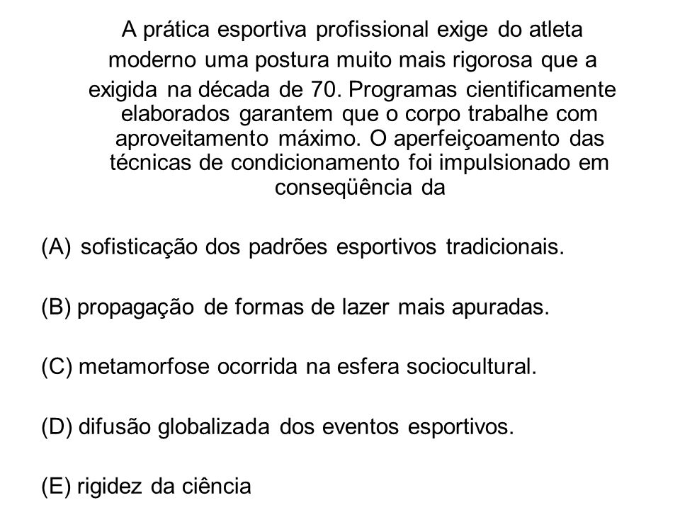 ANEXOS CONDICIONAMENTOS E ESFORÇO FÍSICO
