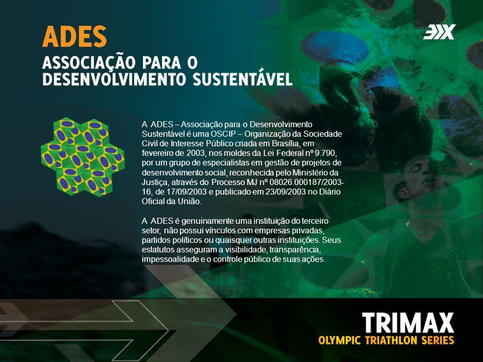 A ADES – Associação para o Desenvolvimento Sustentável é uma OSCIP – Organização da Sociedade Civil de Interesse Público criada em Brasília, em fevere