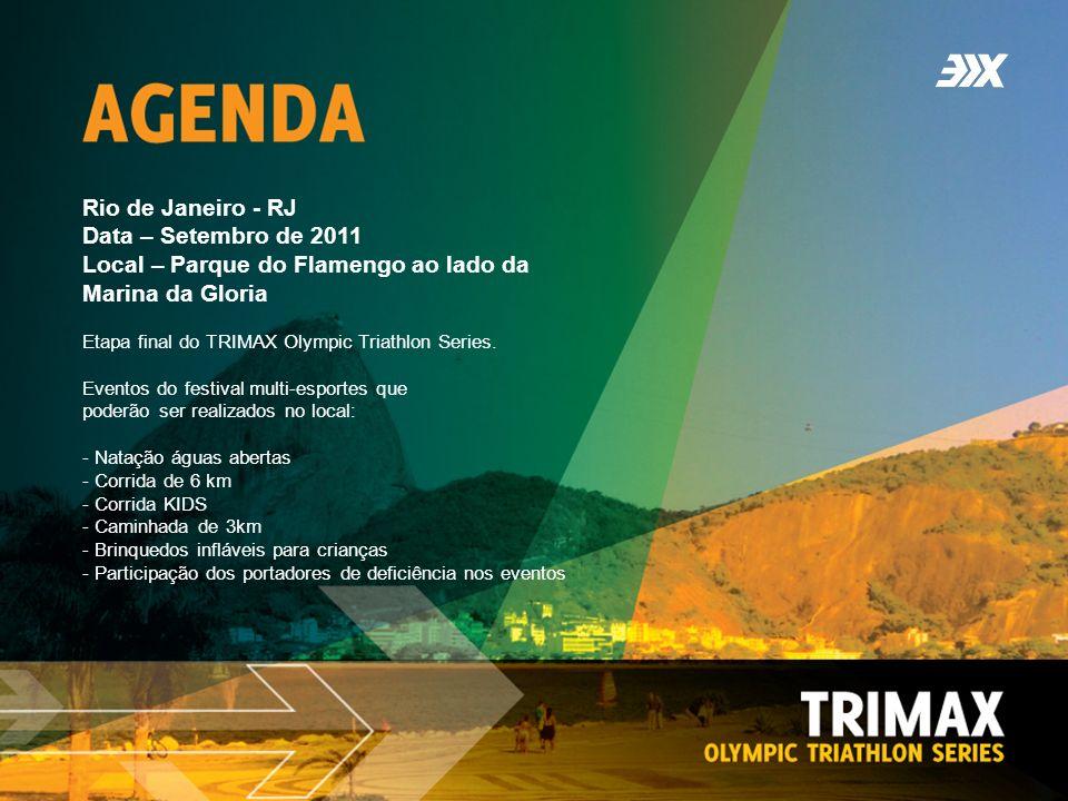 Rio de Janeiro - RJ Data – Setembro de 2011 Local – Parque do Flamengo ao lado da Marina da Gloria Etapa final do TRIMAX Olympic Triathlon Series.