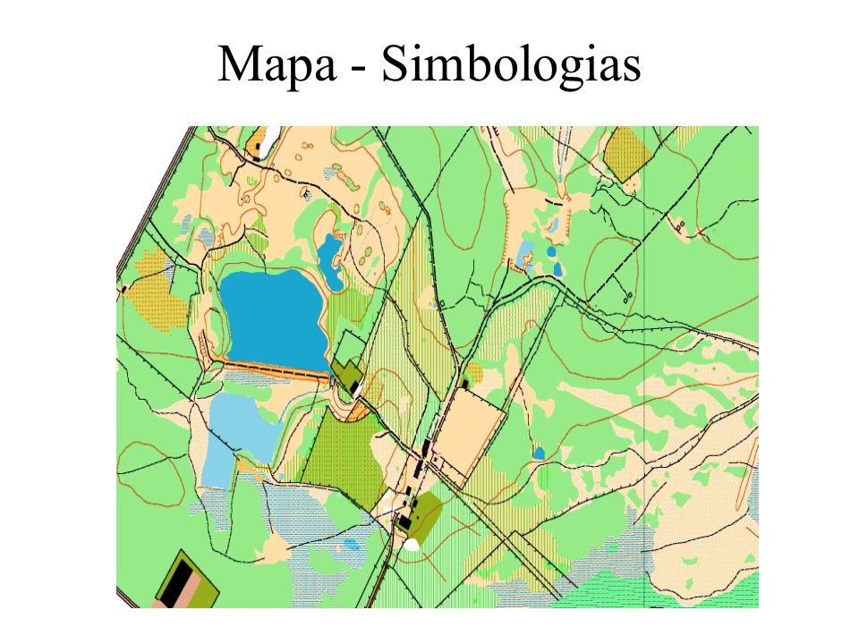 Mapa - Simbologias