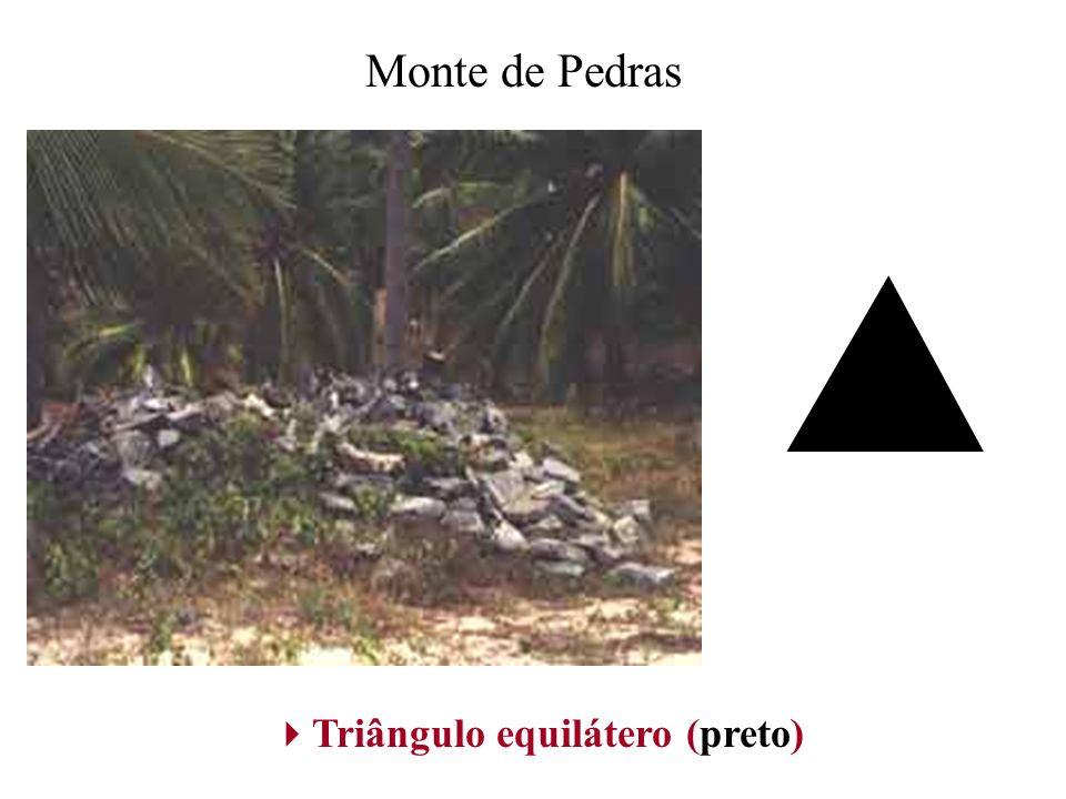 Monte de Pedras Triângulo equilátero (preto)