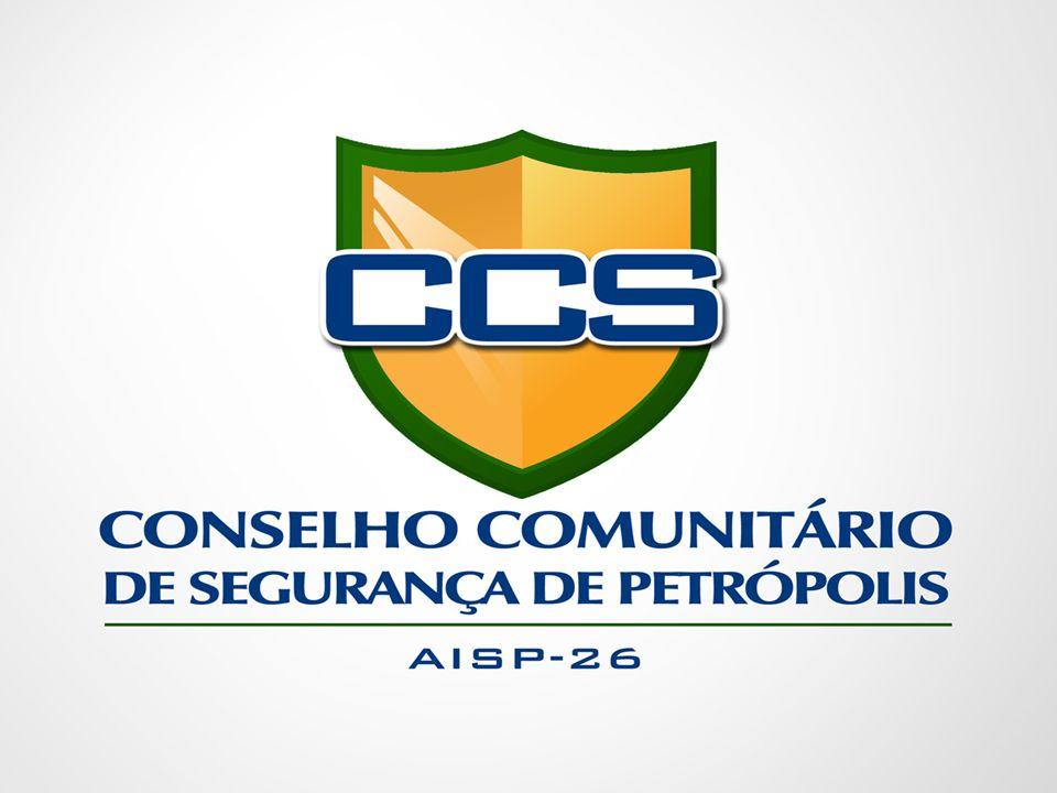 CONSELHO COMUNITÁRIO DE SEGURANÇA DE PETRÓPOLIS PLANO DE METAS 1.