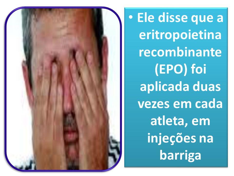 DOPING NO ATLETISMO BRASILEIRO AGOSTO DE 2009 O treinador Jayme Netto, do clube Rede Atletismo, assumiu a culpa pelo doping de 6 atletas. O treinador