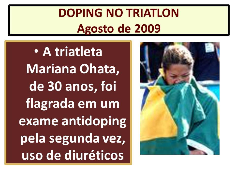 que a contraprova da atleta Rebeca Gusmão deu positivo para a substância proibida testosterona que a contraprova da atleta Rebeca Gusmão deu positivo