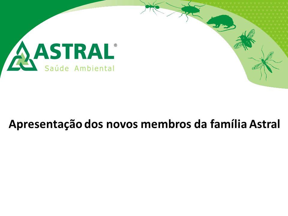 Apresentação dos novos membros da família Astral