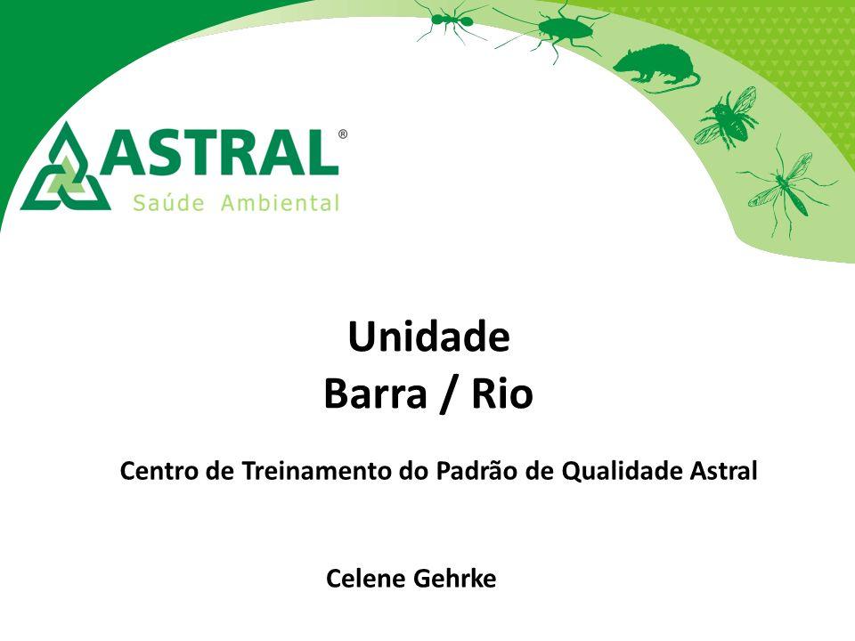 Unidade Barra / Rio Centro de Treinamento do Padrão de Qualidade Astral Celene Gehrke
