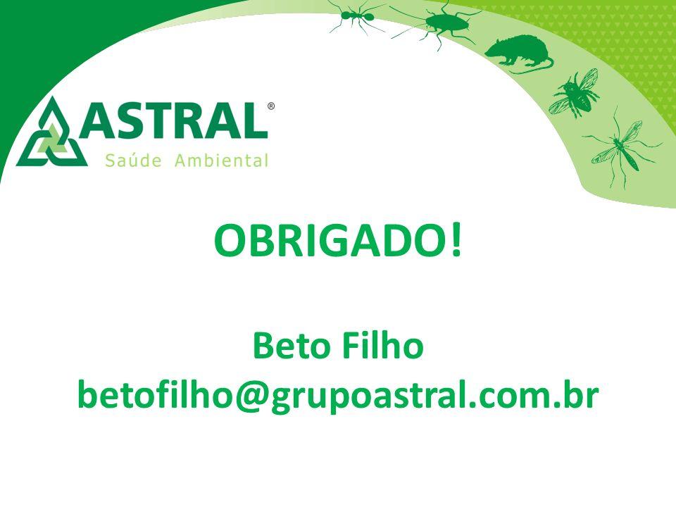 OBRIGADO! Beto Filho betofilho@grupoastral.com.br