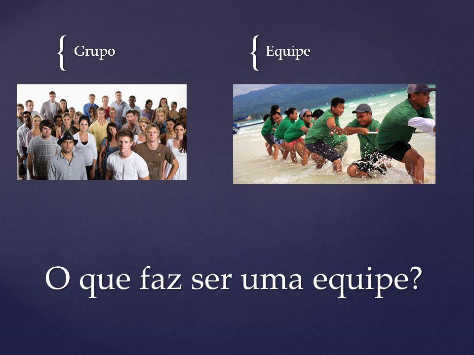 {{ GrupoEquipe O que faz ser uma equipe?