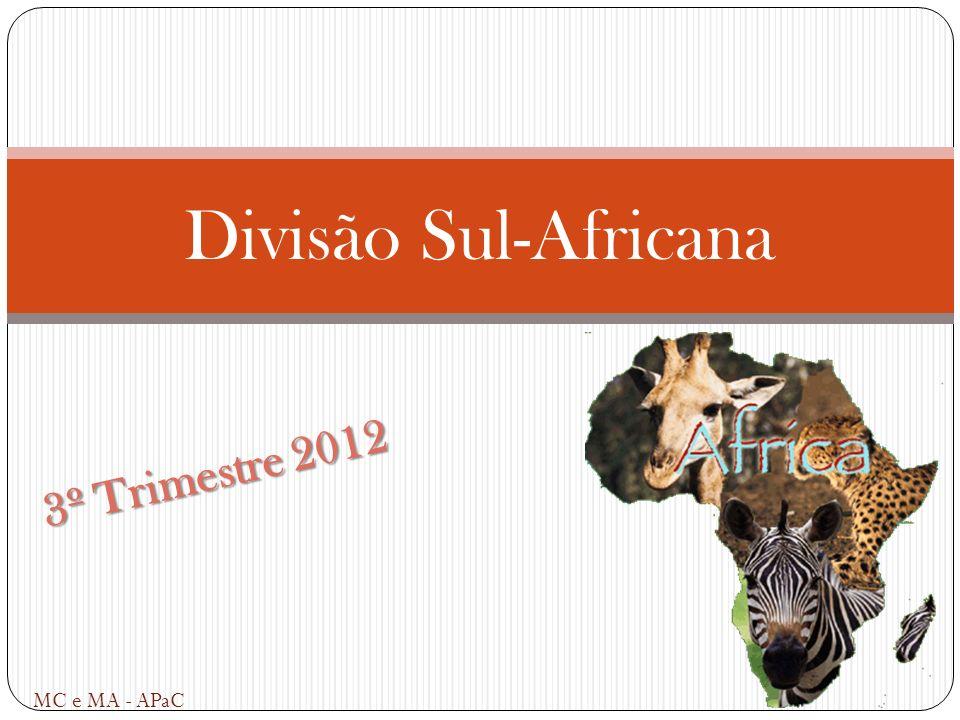 Divisão Sul-Africana 3º Trimestre 2012 MC e MA - APaC