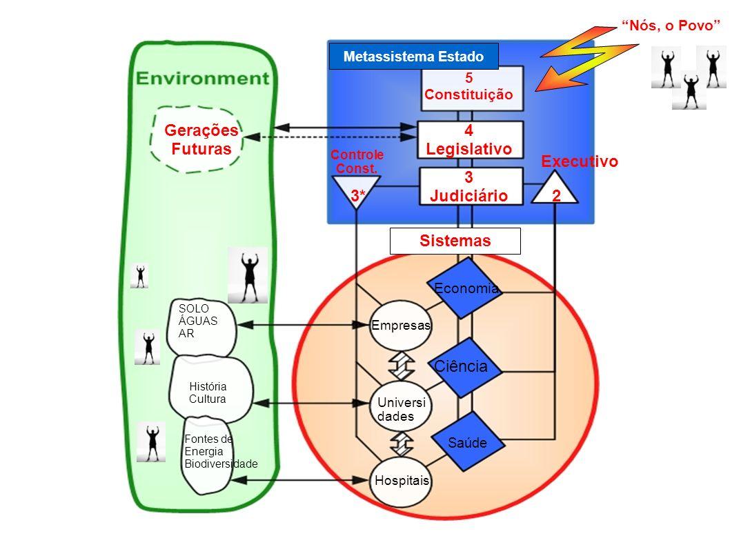 Economia Ciência Saúde Metassistema Estado Sistemas Controle Const.