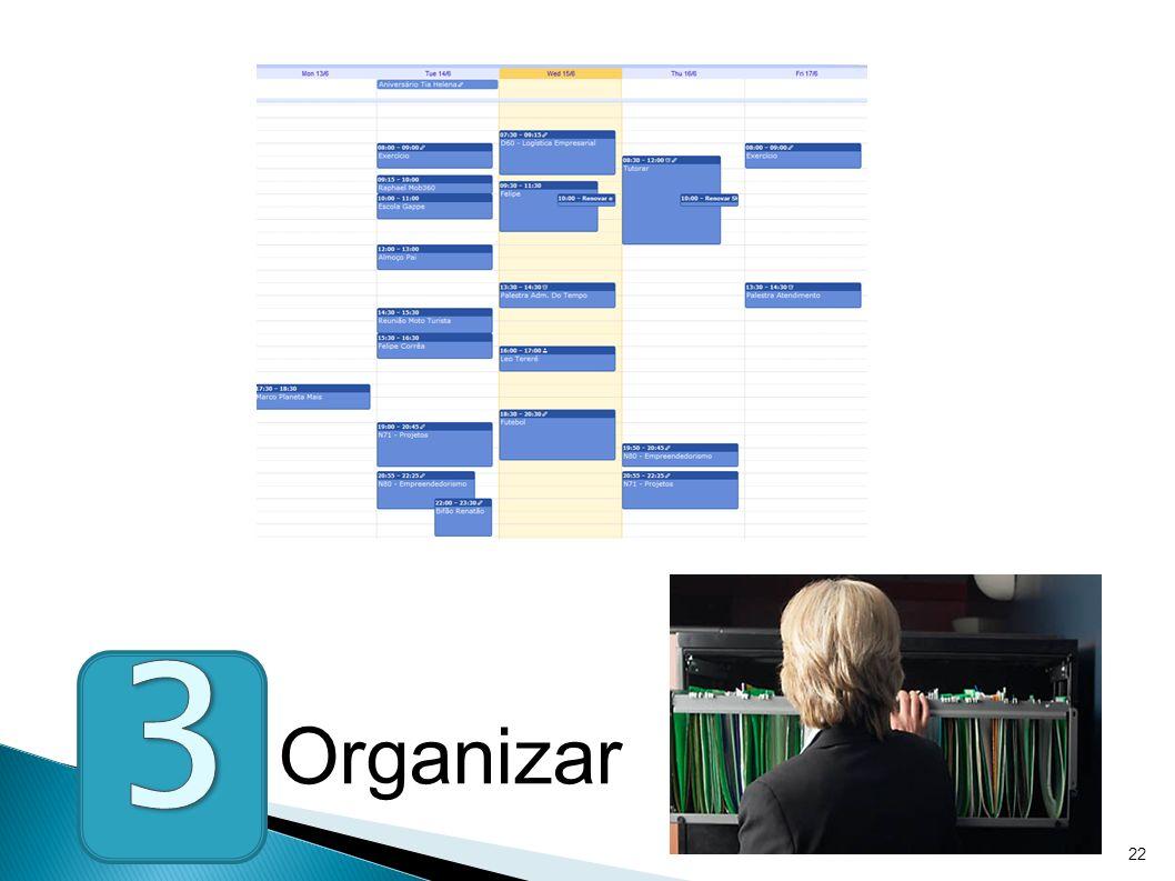 22 Organizar