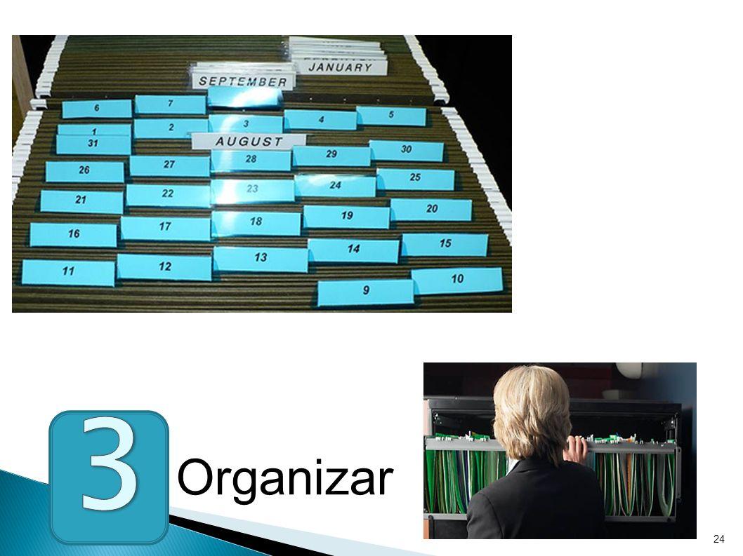 24 Organizar