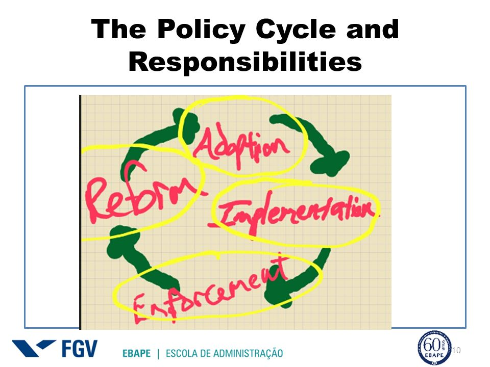 The Policy Cycle and Responsibilities 10