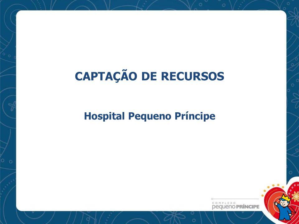 CAPTAÇÃO DE RECURSOS Hospital Pequeno Príncipe