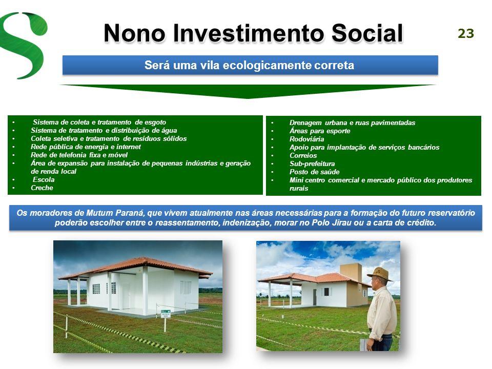 23 Os moradores de Mutum Paraná, que vivem atualmente nas áreas necessárias para a formação do futuro reservatório poderão escolher entre o reassentamento, indenização, morar no Polo Jirau ou a carta de crédito.