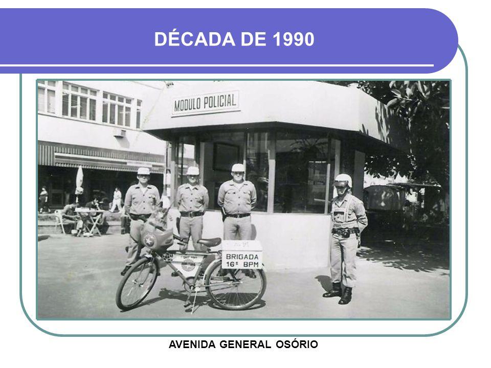 CONSTRUÇÃO - DÉCADA DE 1980 MÓDULO POLICIAL DO CENTRO