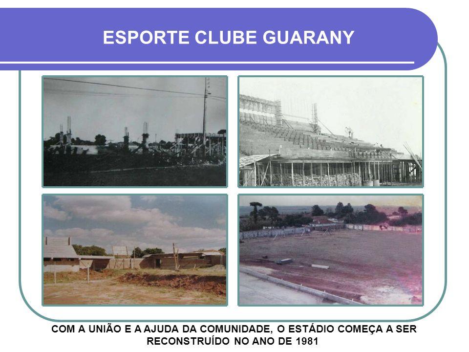 3º PERÍODO: 1985 - 2001 MAIS UMA ÉPOCA DE GRANDES CONQUISTAS, QUE RECOLOCARAM O NOME DO CLUBE NO CENÁRIO FUTEBOLÍSTICO ESTADUAL E NACIONAL