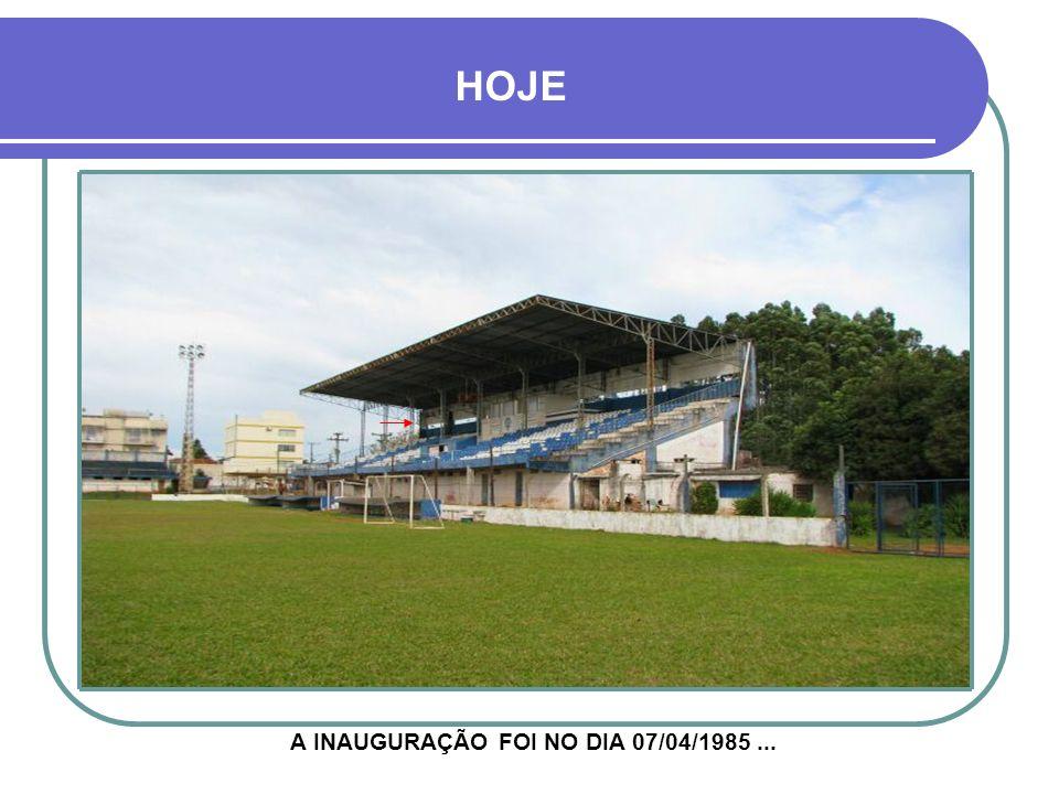 ESPORTE CLUBE GUARANY A RECONSTRUÇÃO DUROU ENTRE 1981 E 1985
