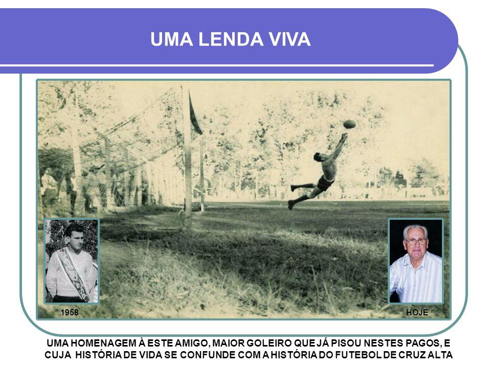 A FOTO ILUSTRA O ÚLTIMO JOGO DE LINO CERETTA, ENTRE GUARANY E NACIONAL, DIA 23/10/1966 - VITÓRIA DO GUARANY POR 2 A 1 A DESPEDIDA.
