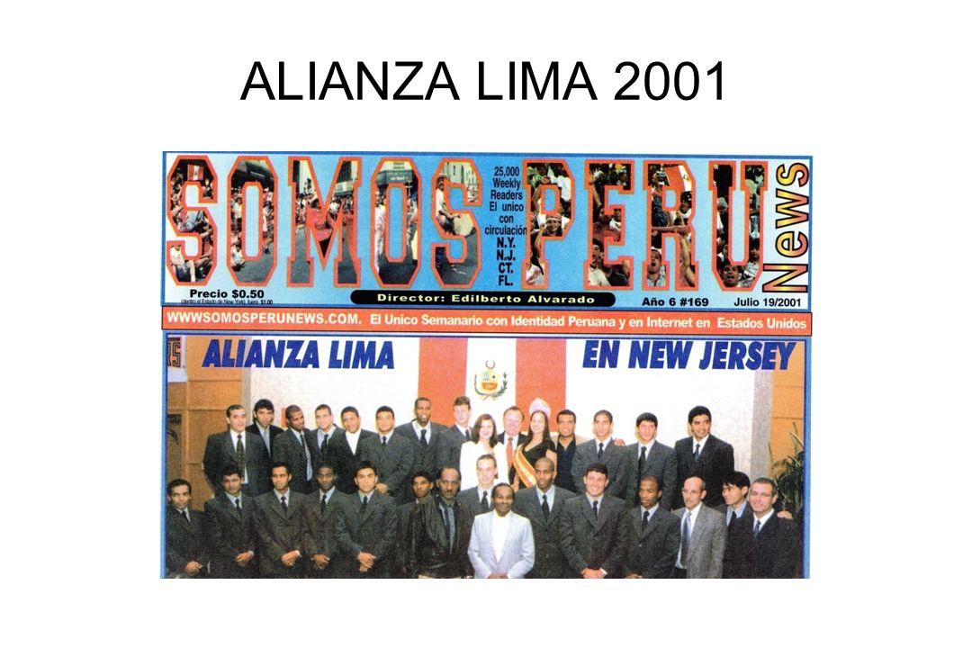 ALIANZA LIMA 2001