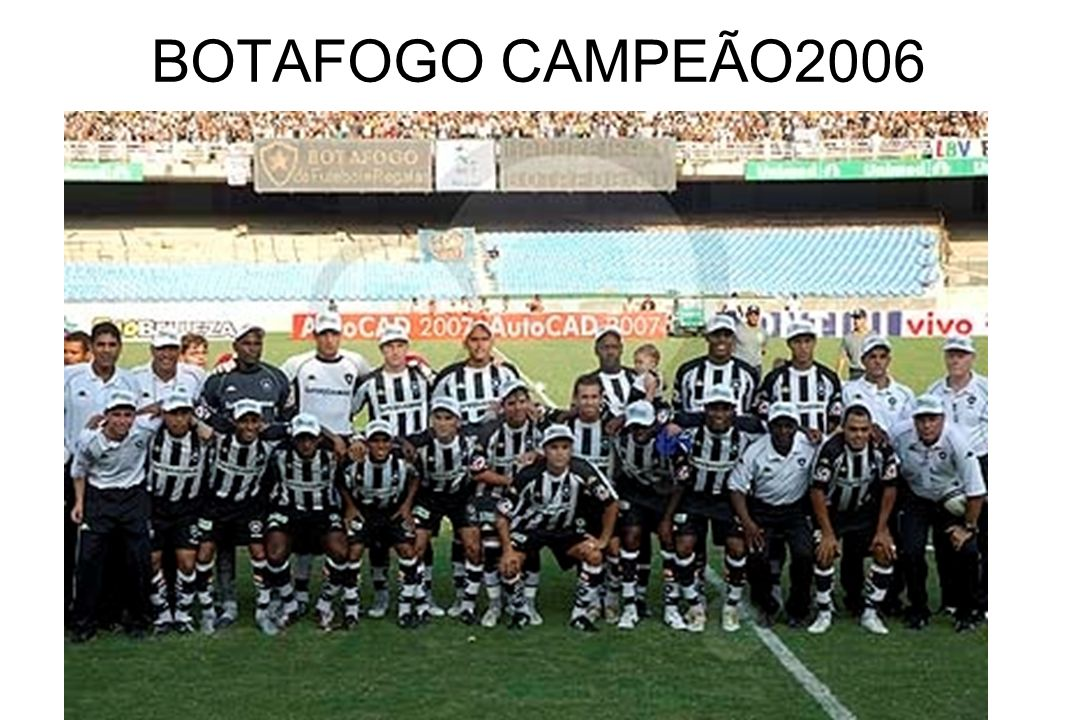 BOTAFOGO CAMPEÃO2006