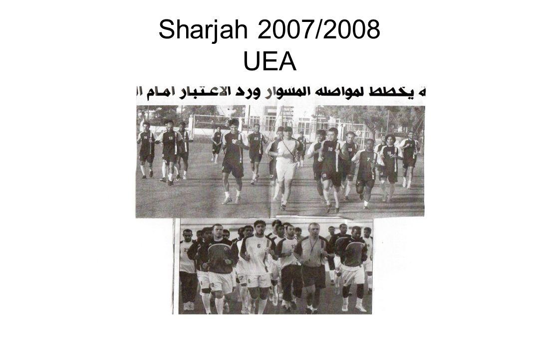 Sharjah 2007/2008 UEA
