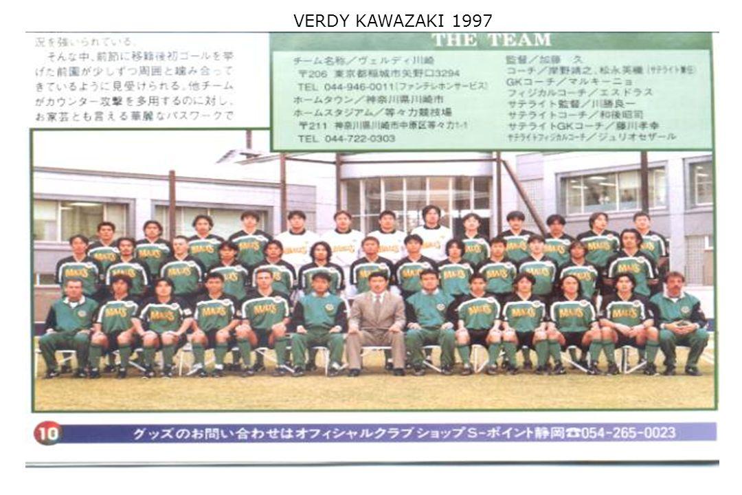 VERDY KAWAZAKI 1997