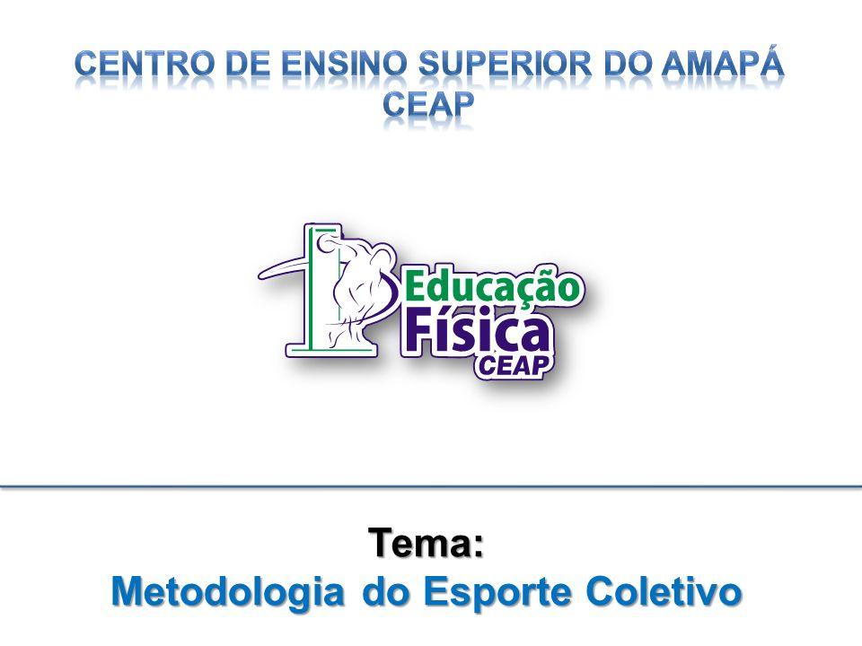 Tema: Metodologia do Esporte Coletivo