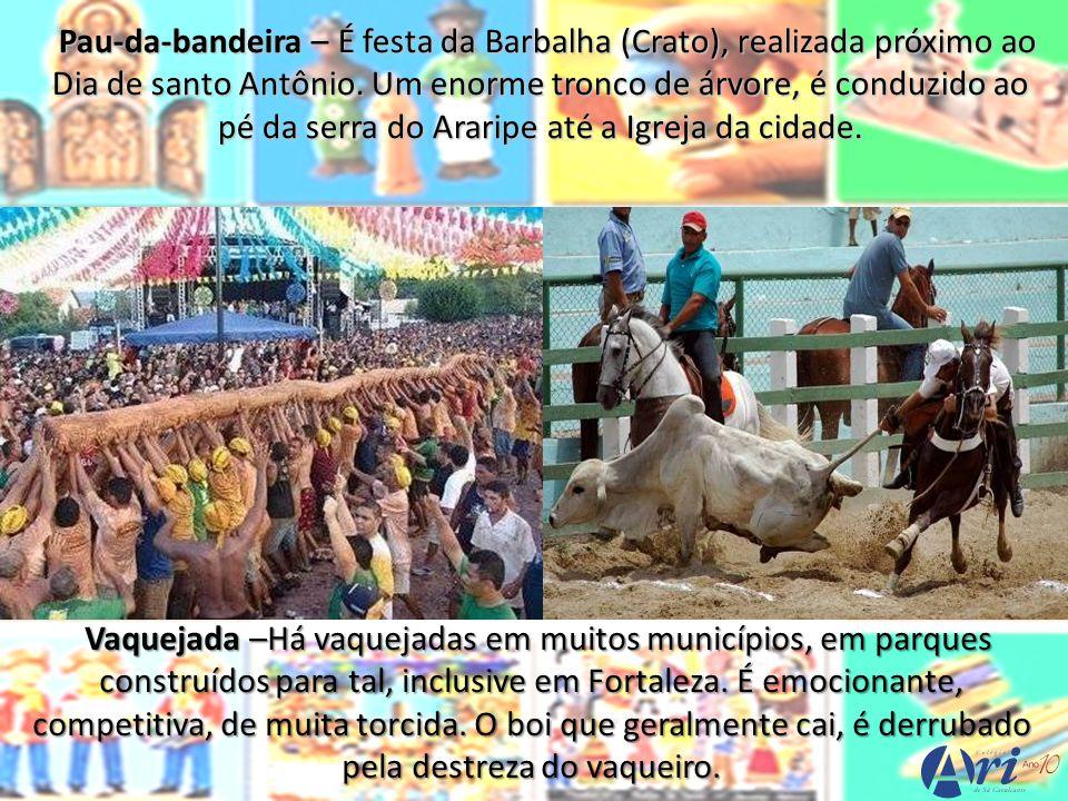 Maneiro-pau – É dança oriunda do cangaço, possivelmente da região do cariri.