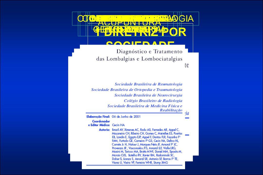 1 DIRETRIZ POR SOCIEDADE ACUPUNTURACARDIOLOGIACOLO-PROCTOLOGIAGERIATRIA E GERONTOLOGIA HEMATOLOGIA E HEMOTERAPIA INFECTOLOGIAMEDICINA DO ESPORTE NEFROLOGIANEUROCIRURGIANEUROFISIOLOGIA CLÍNICA OTORRINOLARINGOLOGIAREUMATOLOGIA