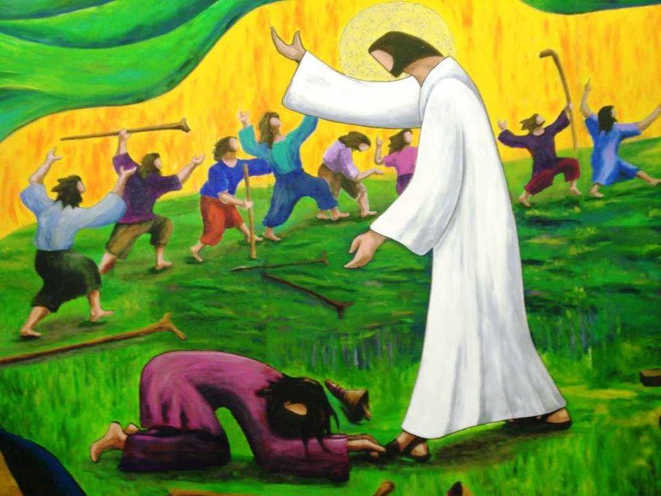 No Evangelho, Jesus, a caminho de Jerusalém, cura dez leprosos. (Lc 17,11-19 ) Os leprosos deviam morar fora do povoado, longe do convívio humano para