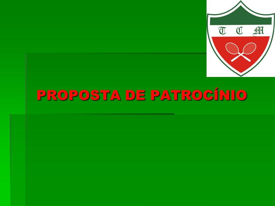 PROPOSTA DE PATROCÍNIO
