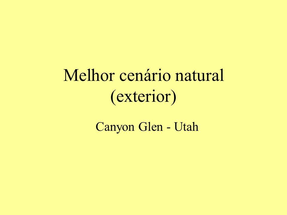 Melhor cenário natural (exterior) Canyon Glen - Utah