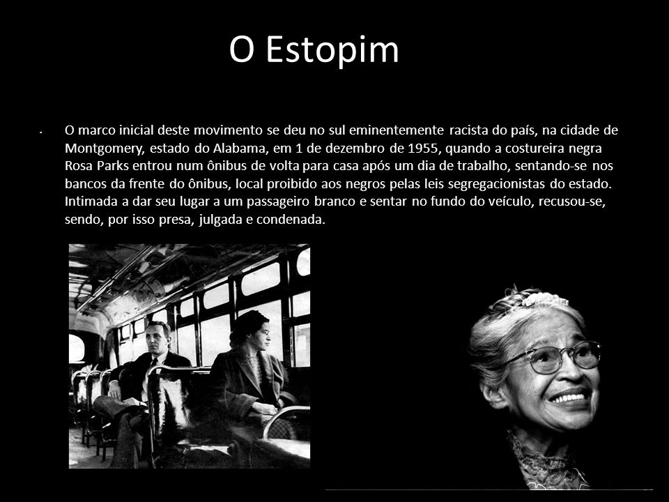 A Explosão Boicote ao Transporte Público, e o Surgimento dos Líderes do Movimento: Martin Luther King e Malcolm X