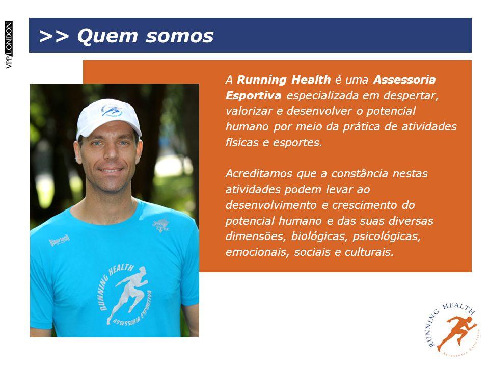 A Running Health é uma Assessoria Esportiva especializada em despertar, valorizar e desenvolver o potencial humano por meio da prática de atividades f