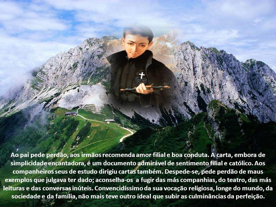 Tanto o cônego como o capuchinho carregaram bastante as cores da vida austera na Congregação dos Passionistas, que absolutamente não lhe conviria, a e