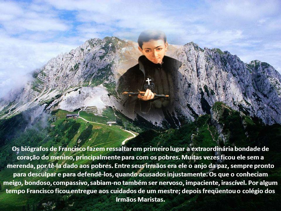 Do pai, o próprio filho Francisco ao seu diretor espiritual deu o seguinte testemunho: Meu pai, declarou, tinha por costume levantar-se bem cedo. Dedi