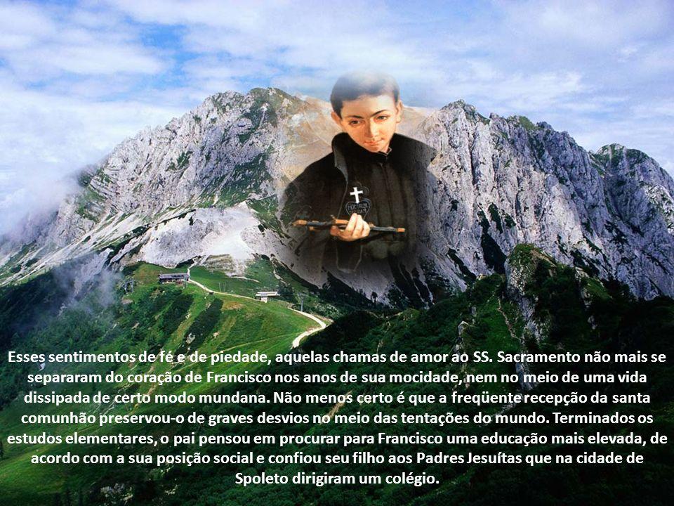 Tudo isto prova que o menino já se achava bem instruído nas verdades da nossa fé, graças ao sólido ensino que lhe dispensavam os beneméritos Irmãos Sallistas.