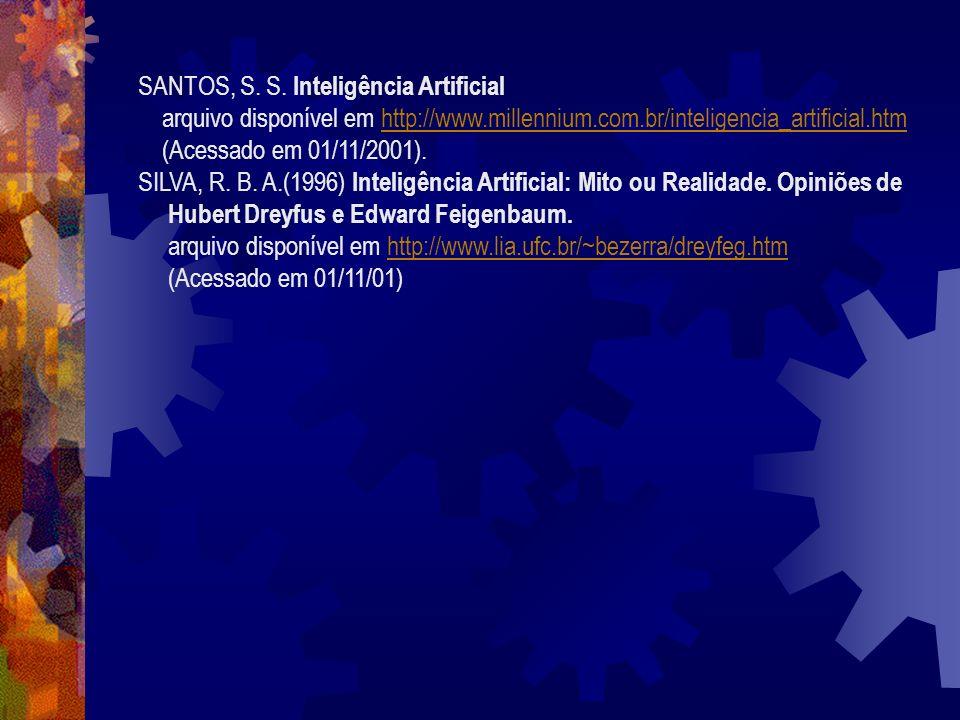 FÁVERO, A. J., Sistemas Especialistas arquivo disponível em http://www.din.uem.br/ia/especialistas/index.htmlhttp://www.din.uem.br/ia/especialistas/in