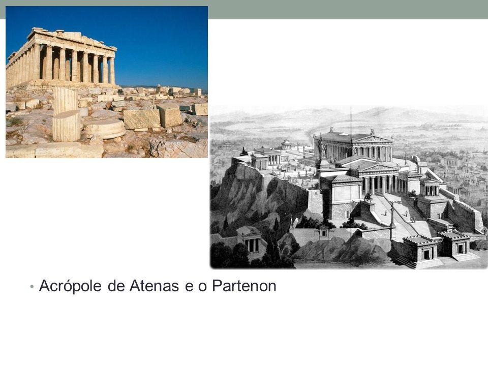Acrópole de Atenas e o Partenon