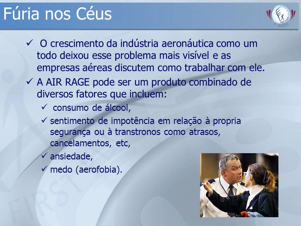 Fúria nos Céus O crescimento da indústria aeronáutica como um todo deixou esse problema mais visível e as empresas aéreas discutem como trabalhar com