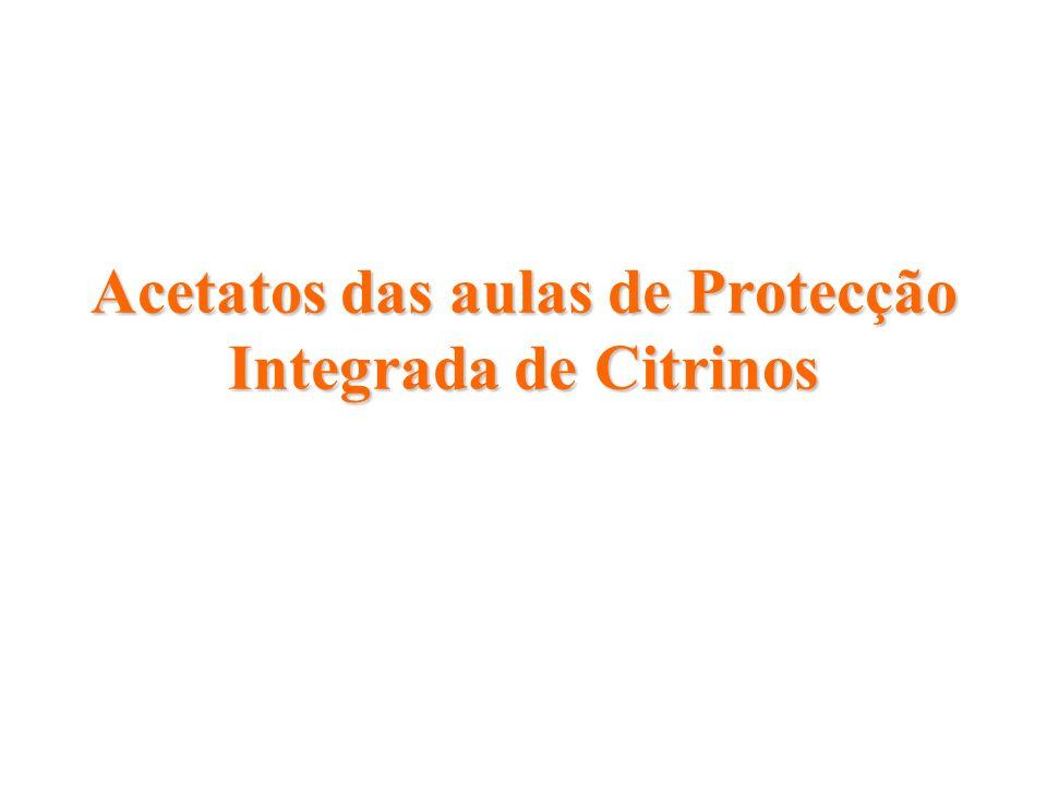 Infestantes (DGPC, 1995)