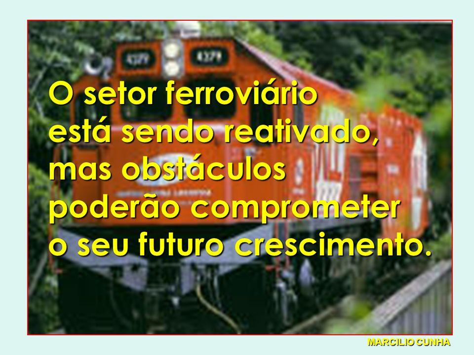 O setor ferroviário está sendo reativado, mas obstáculos poderão comprometer o seu futuro crescimento.