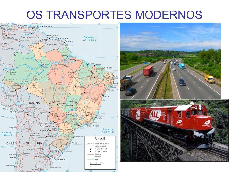 OS TRANSPORTES MODERNOS