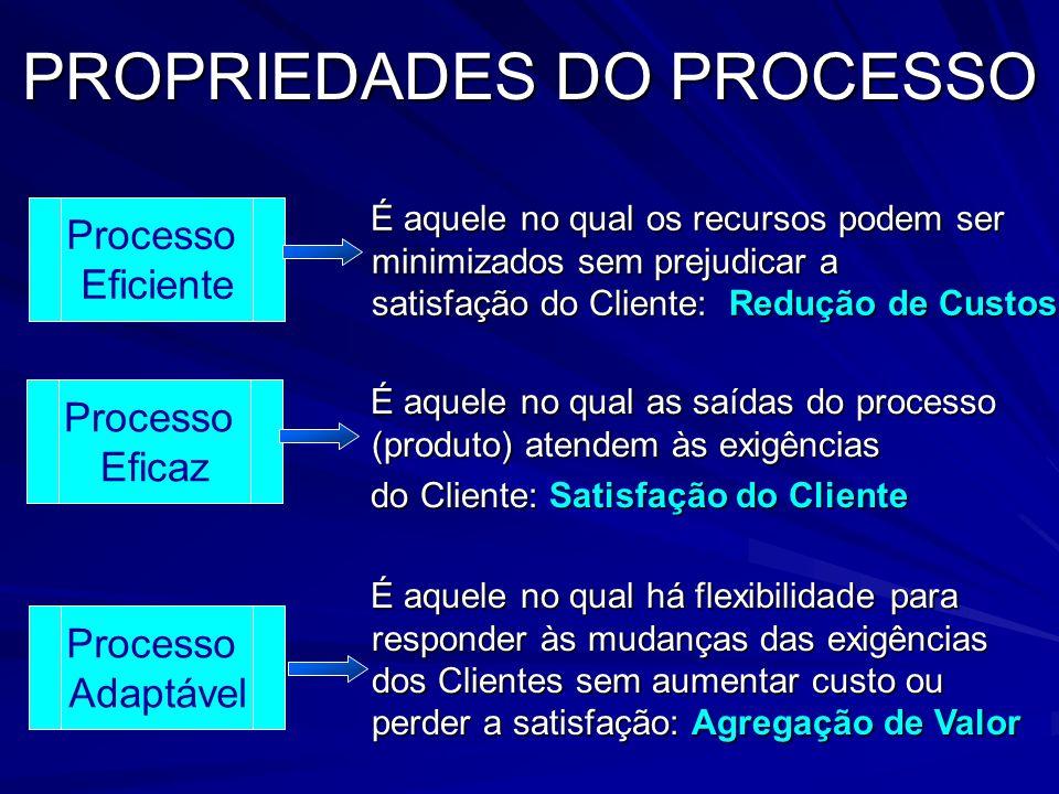 Conceito de Processo FORNECEDORCLIENTE TAREFA / PROCESSO Input Output REQUISITOSREQUISITOS REQUISITOS