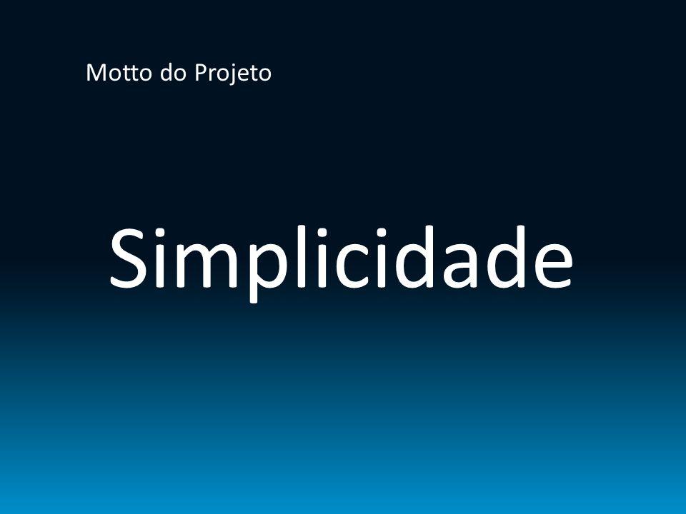 Motto do Projeto Simplicidade