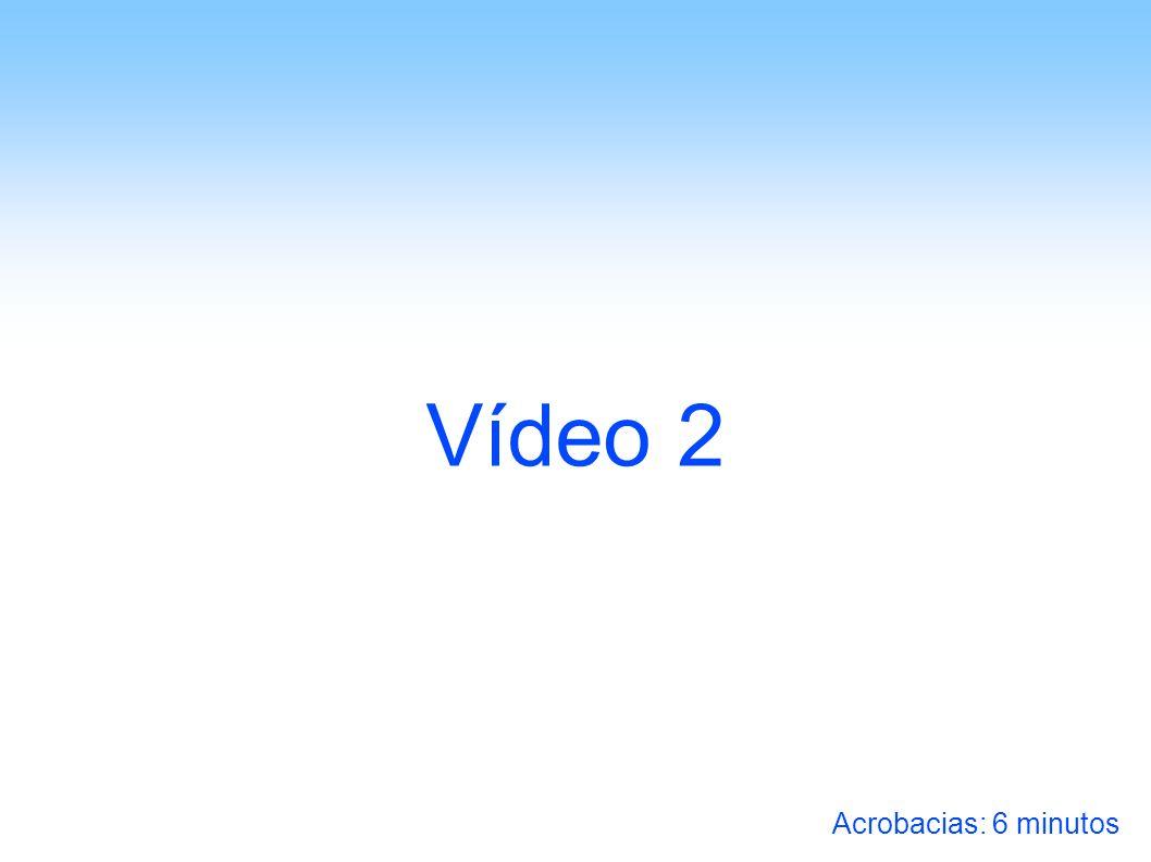 Vídeo 2 Acrobacias: 6 minutos