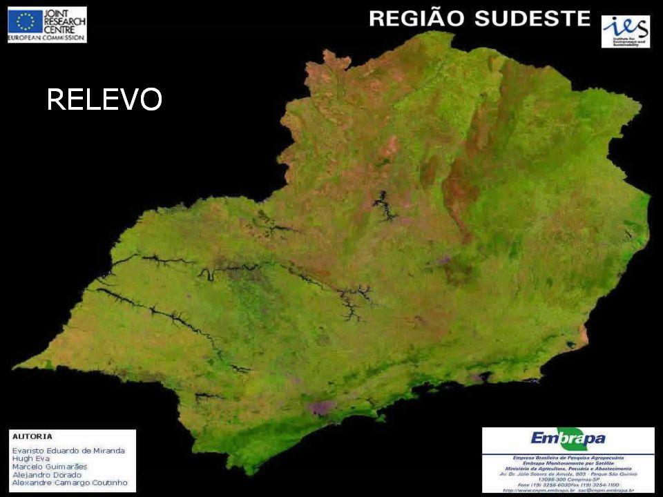 FORMADA PELOS ESTADOS DO ESPÍRITO SANTO, MINAS GERAIS, RIO DE JANEIRO E SÃO PAULO, A REGIÃO SUDESTE OCUPA 10,85% DO TERRITÓRIO BRASILEIRO, COM UMA ÁREA DE 927.286,2 KM 2.