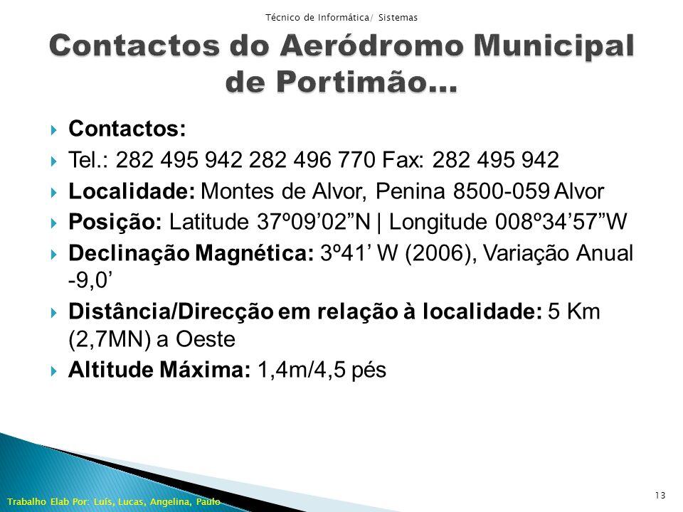 Contactos: Tel.: 282 495 942 282 496 770 Fax: 282 495 942 Localidade: Montes de Alvor, Penina 8500-059 Alvor Posição: Latitude 37º0902N | Longitude 00