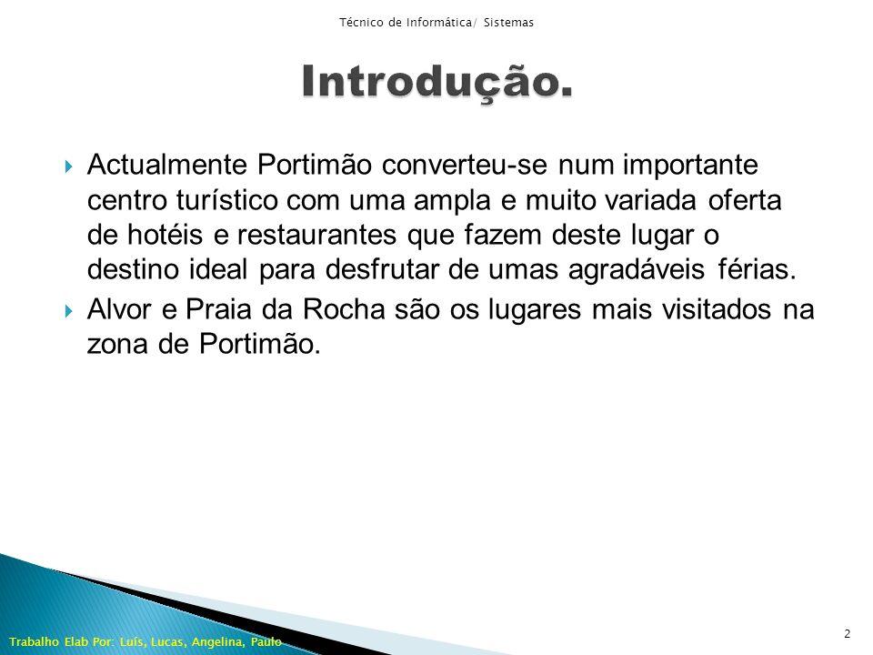 Actualmente Portimão converteu-se num importante centro turístico com uma ampla e muito variada oferta de hotéis e restaurantes que fazem deste lugar